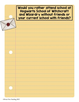 Digital Writing Prompts for use with Google Classroom