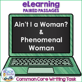 Digital Writing Task Resource: Ain't I a Woman? & Phenomenal Woman
