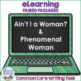 Digital Writing Task Resource Ain't I a Woman? & Phenomenal Woman