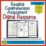 Digital Year Long First Grade Reading Comprehension Assess