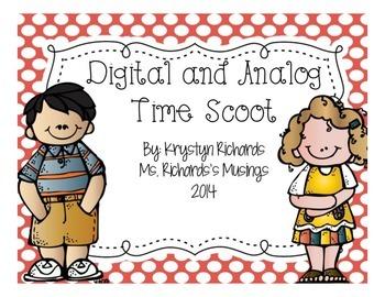Digital and Analog Clock Scoot