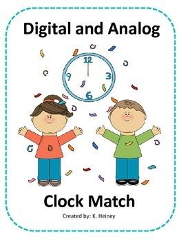 Digital and Analog Clocks
