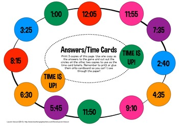 Digital and Analog Time Game