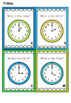 Digital and Analogue / Analog time bundle + Time Scoot and Bingo