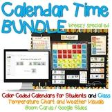 Digital and Bulletin Board Calendar Time BUNDLE