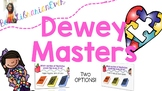 Digital and Print Dewey Masters Boom Cards: NO PREP