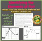Digital and Print- Elements of Plot Notes and Student Acti