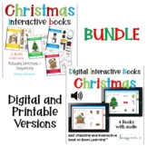 Digital and Printable BUNDLE: Christmas Direction Books