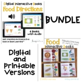 Digital and Printable BUNDLE: Food Direction Books