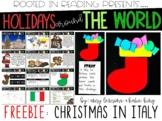 Digital and Printable Christmas in Italy FREEBIE