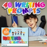 Digital and Printable Distance Learning Grade 1 Writing Wo