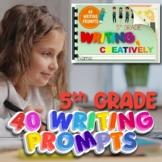 Digital and Printable Editable 5th Grade Writing Creativel