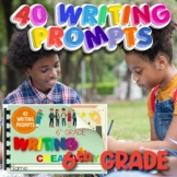 Digital and Printable Editable 6th Grade Writing Creativel