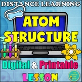 Digital and Printable Atom Structure Lesson- Matter and Chemistry Unit