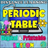 Matter and Chemistry Digital and Printable Lesson- PERIODIC TABLE