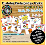 Digital and Printable Leveled Books - Back to School Bundle