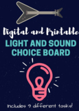 Digital and Printable Light and Sound Choice Board Project