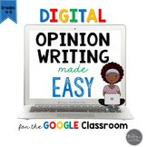 Digital and Printable Opinion Writing Made Easy for Google
