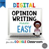 Digital and Printable Opinion Writing Made Easy for Google