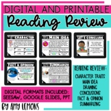 Digital and Printable Reading Review Stations