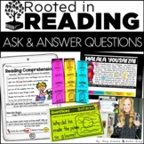 Digital and Printable Reading Toolkit: Asking and Answerin