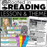 Digital and Printable Reading Toolkit: Lesson, Theme, Auth