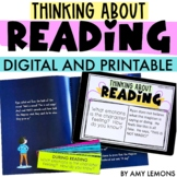 Digital and Printable Thinking About Reading: 50 Book Questions
