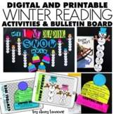 Digital and Printable: We Love Reading Snow Much
