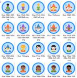 Digital badging made easy with this bundle of emoji badges
