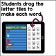 Digital Centers CVC Word Families Pocket Chart Activities for Google Classroom