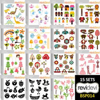 Digital clipart bundle (collection 14)