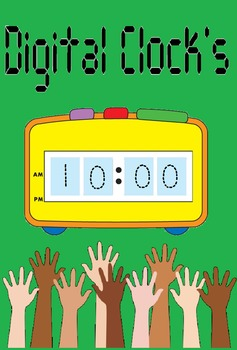 Digital clocks: Preschoolers