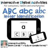 Digital eLearning ⋅ ABC case and font MATCH ⋅ Interactive