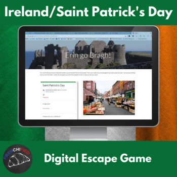 Digital escape game - Saint Patrick's Day - Irish culture and history