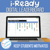 Digital iReady Classroom Leaderboard for Data Tracking