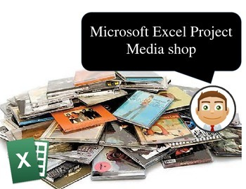 Digital media shop inventory with Microsoft Excel 2000 - 20103
