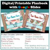 Digital or Printable Teacher Planner using Google Slides Updated 2018/2019