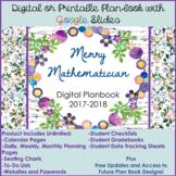 Digital or Printable Teacher Planner for Google Slides