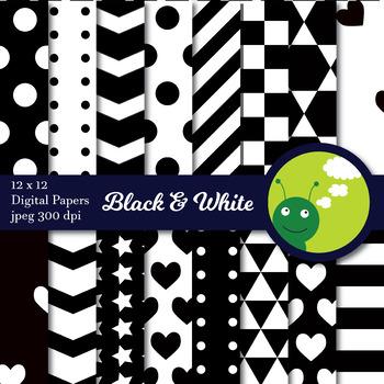 Digital paper: Black and white