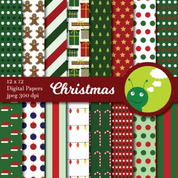 Digital paper: Christmas