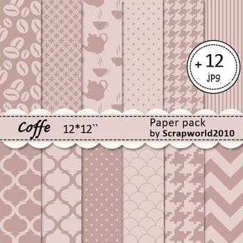 Digital paper Coffee