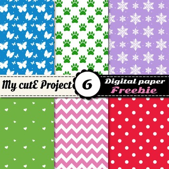 Digital paper Pack - FREEBIE - 12x12 inches