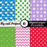 Digital paper Pack - FREEBIE - 12x12 inches