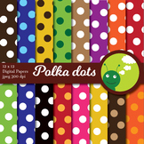 Digital paper - Polka dots