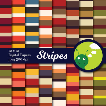 Digital paper: Stripes