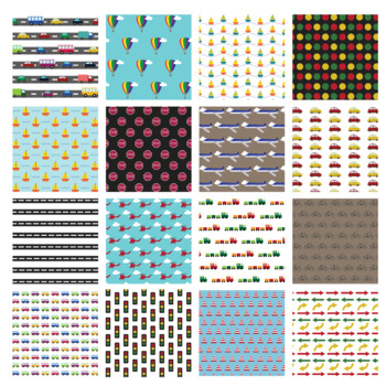 Digital paper - Vehicles (and traffic)