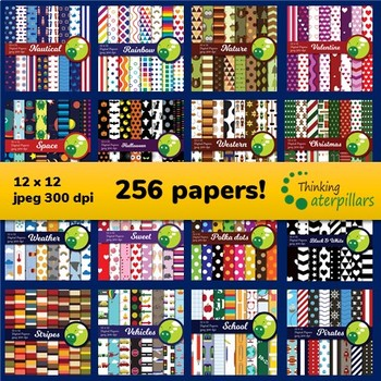 Digital paper mega bundle (256 papers!)