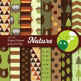 Digital paper: nature