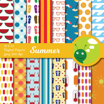 Digital paper: summer