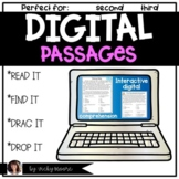 Digital passages and comprehension distant learning